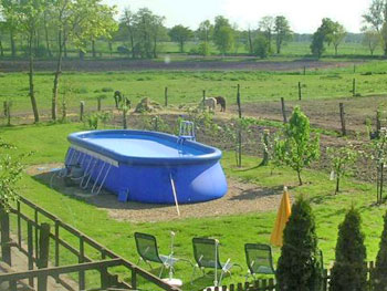 Schwimmingpool fur den garten  Bremen, Ferienwohnung bis 6 Personen mit Garten