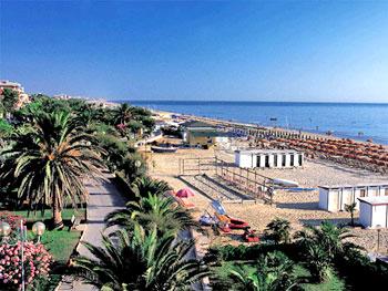Pescara Strand italien adria abruzzen hotel am meer